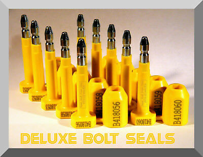 Bolt Security Seals (Cargo) Deluxe High-Security, C-Tpat Compliant 2013 Stand