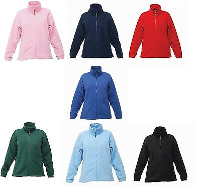 Ladies Woman Regatta Professional Thor III Fleece Full Zip Jacket Coat Workwear