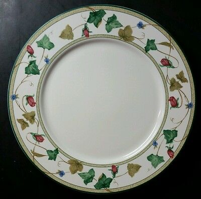 """Lenox Casual Images """"summer Terrace"""" 10 7/8"""" Dinner Plate(S) - Excellent"""