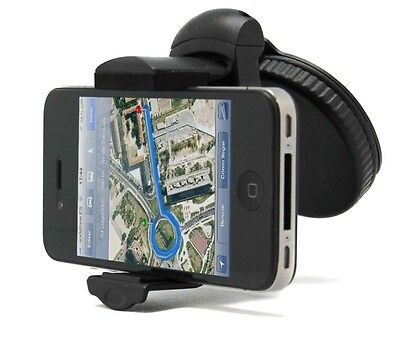 Soporte De Coche Para Movil Gps Pda Universal Ajustable Holder 360 Ventosa*
