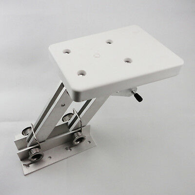 Outboard 2 Stroke Mount Motor Bracket Trolling Dingy Marine Auxiliary White
