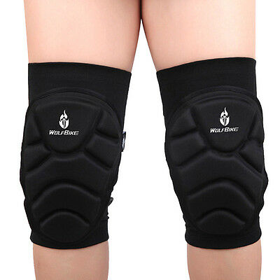 WOLFBIKE Thicker Wrestling Knee Pad Sleeve Protective for Cycling Skating Sport