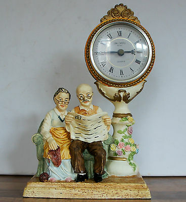 1993 Grandma And Grandad Clock Omament  ( Id 00D)