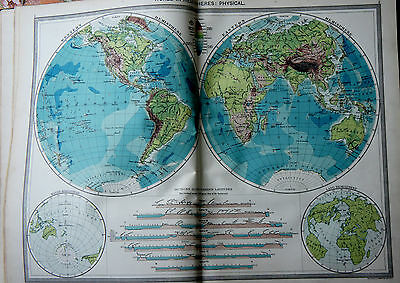 Large  Book Harmsworth Atlas & Gazetteer