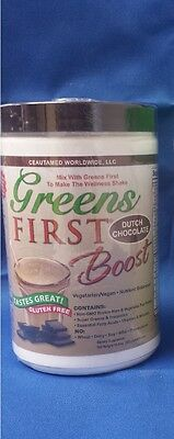 Greens First BOOST CHOCOLATE Powder Doctors For Nutrition Ceautamed-10 Oz New