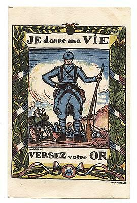 Wwi.je Donne Ma Vie.versez Votre Or.i Lay Down My Life.pour Your Gold.