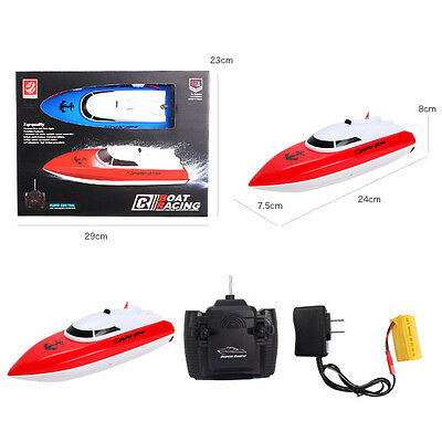 4CH Kid Children RC Radio Remote Control High Speed Boat Ship Electric Toy Gift