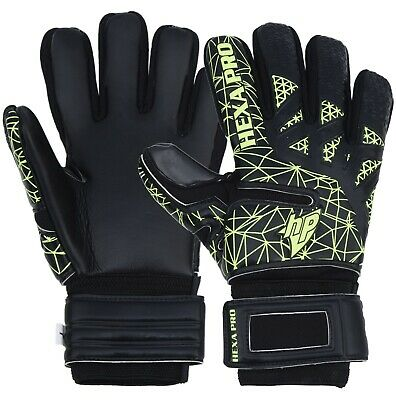 Hexabrothers Goalkeeper Soccer Football Match Korean Latex Protective Gloves New
