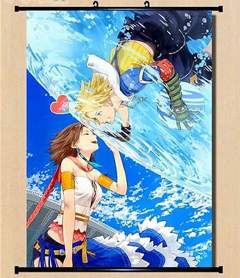 Final Fantasy 13 XIII-2 Tidus Yuna Home Decor Wall poster Scroll 60*90CM C59