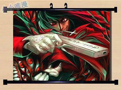 Japanese Anime Hellsing Alucard Home Decor  Wall poster Scroll  60*45CM C67