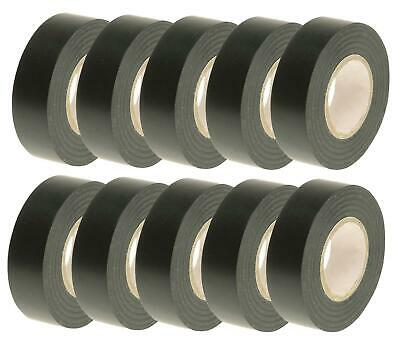 10 Home House Electrician Electrical Pvc Black Cable Repair Fix Insulation Tapes