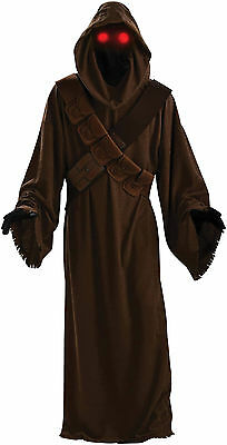 Halloween LifeSize STAR WARS DELUXE HOODED JAWA MEN COSTUME ADULT Standard