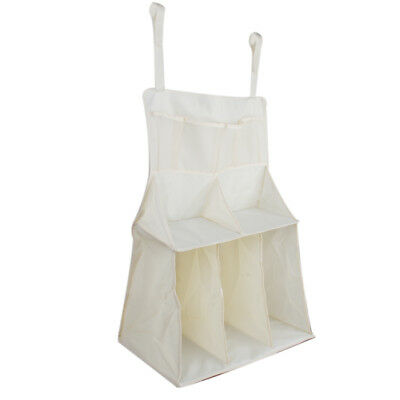 Baby Crib Cot Bedside Hanging Bag Organizer Diaper Storage Pouch Pocket