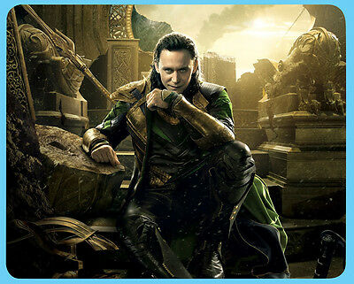 Tom Hiddleston Loki Thor mouse mat Secret Santa Birthday gift idea D2