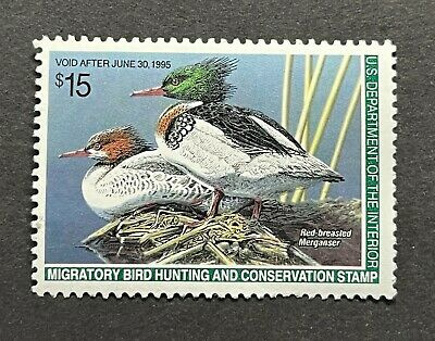 WTDstamps - #RW61 1994 - US Federal Duck Stamp - Mint OG NH