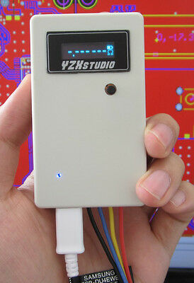 White OLED Four-wire Digital Micro-ohm Meter Milliohm Micro Ohm Resistance Meter