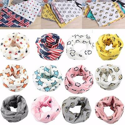 Hot Autumn Winter Warm Boys Girls Collar Baby Scarf Children O Ring Neck Scarves