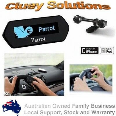 Parrot MKi9100 V3 Bluetooth Hands Free Car Kit Music iPhone Samsung HTC Nokia