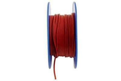 Connect 30035 Red Thin Wall Single Core Cable 28/0.30 50m