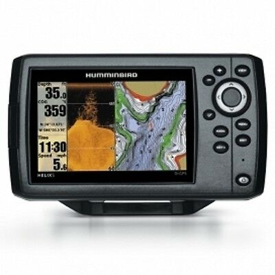 "Humminbird Helix 5 DI GPS Fish Finder Chart Plotter. 5"" Screen, inc Transducer"
