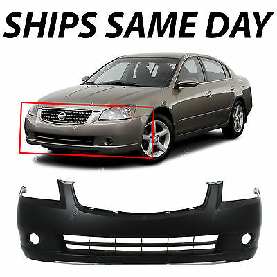 NEW Primered - Front Bumper Cover Fascia For 2005 2006 Nissan Altima Sedan 05 06