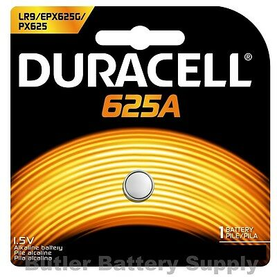 1 x 625A Duracell 1.5V Alkaline Battery (LR9, EPX625, PX625, PX625AB)
