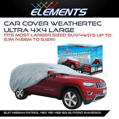 Premium Car Cover Suits Nissan Patrol Y60 Y61 Y62 Gq Gu Ford Maverick