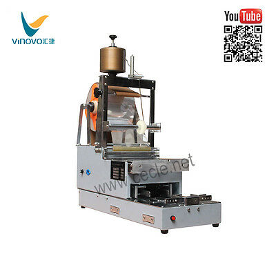 VINOVO CW-88A Cigarette Box Packing Machine Cellophane Wrapping Machine