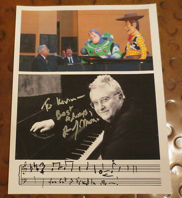 Randy Newman Disney Songwriter signed autographed photo Toy Story Song I Love LA