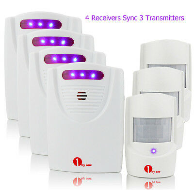 Pro Driveway Infrared Wireless Alert System Motion Sensor Alarm Chime Security