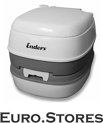 Enders Mobile WC Deluxe Camping Outdoor Toilet White Level Indicator Genuine New