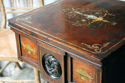 Antique Attractive George III Painted Mahogany Pedestal Cupboard c.1770-80