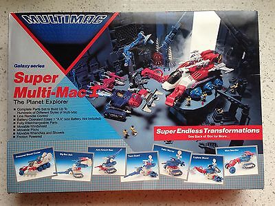 * SUPER MULTIMAC I G1 Vehicle GALAXY SERIES THE PLANET EXPLORER Silverlit Toys
