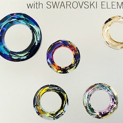 6cd9a624a SWAROVSKI® CRYSTAL COSMIC Rings #4139 - Sz: 14mm Choose Color 1 PC ...