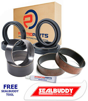 BMW F800 GS 08-12 Fork Seals Dust Seals Bushes Full Suspension KIT