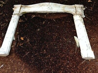 French Marble LOUIS XV Fireplace Mantle