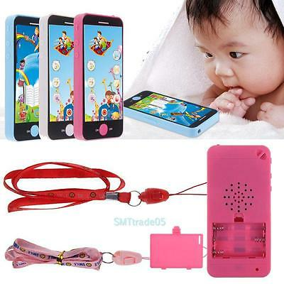 Kids Simulator Music Cellphone Touch Screen Baby Early Development Learning Toys