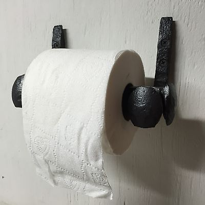 Railroad Spike Toilet Paper Holder