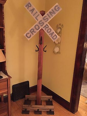 Railroad Crossing Spike Coat Tree