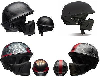 *Ships Same Day* Bell Rogue Motorcycle Helmet (Matte Black, Ghost Recon, Arc..)