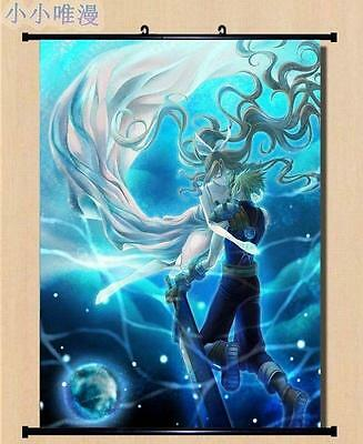 Home Decor Poster Wall Scroll Final Fantasy VII Cloud Strife Sephiroth 60*90 D91