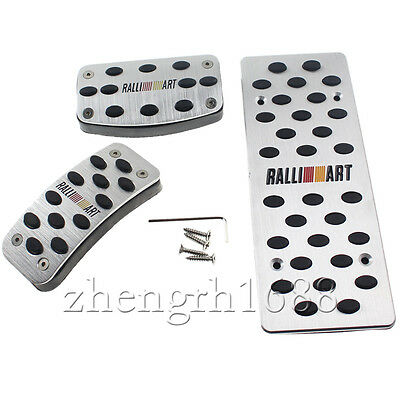 MT Foot Rest Mitsubishi RALLIART Pedals for Lancer Evolution Pajero EVO