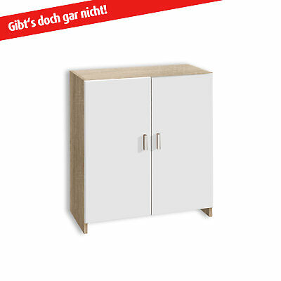 kommode isis schrank anrichte sideboard schubkasten in sonoma eiche eur 29 95 picclick de. Black Bedroom Furniture Sets. Home Design Ideas