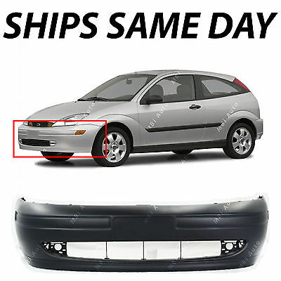 New Primered - Front Bumper Cover Fascia For 2000 2001 2002 2003 2004 Ford Focus