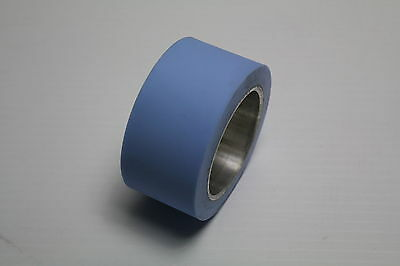 """Polymag Tech 3"""" 35mm DCR Particle transfer roller Blue Used"""