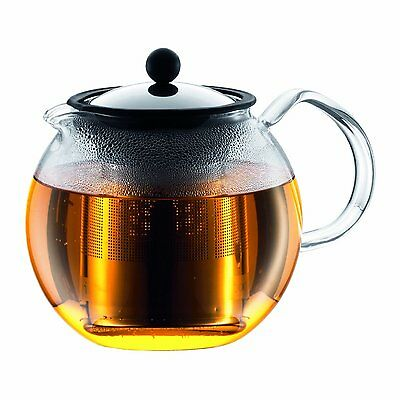 Bodum Assam Tea Press With Stainless Steel Filter Infuser, 1.5L