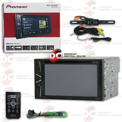 "Pioneer Avh-200Ex Car 6.2"" Lcd Usb Dvd Bluetooth Stereo Free Licenseplate Camera"
