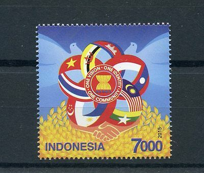 Indonesia 2015 MNH ASEAN Association of Southeast Asian Nations 1v Set Stamps