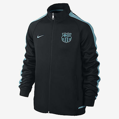 Nike Fc Barcelona Authentic N98 Youth Jacket Night Rising
