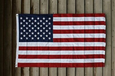 Large American Flag Stars and Stripes Handmade Cotton Traditional Home Party